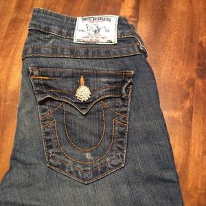 True Religion | Embellished Boot Cut Jeans